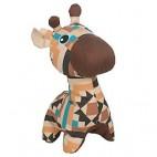 Peluche girafe pour chien