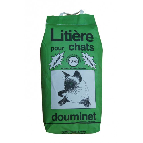 Litière chat Douminet 10kg