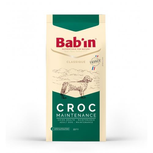 Croquettes chiens Bab'in Croc Maintenance