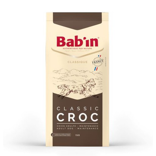 Croquettes chiens Bab'in Classic Croc