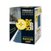 Raticide BF50 au blé entier 1kg
