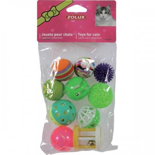 jouets pour chats vendus par 10 la halle aux grains. Black Bedroom Furniture Sets. Home Design Ideas