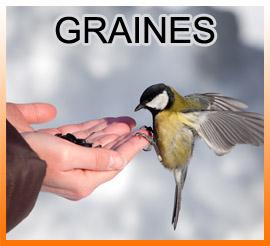 Graines de tournesol et mélange de graines oiseaux de la nature Carcassonne