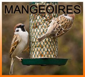 Distributeurs de graines et mangeoires pour oiseaux de la nature Carcassonne
