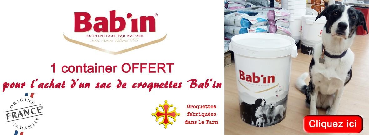 Croquettes pour chiens fabriquées en France. Grande qualité, petit prix. Idéales pour la santé de vos chiens. 1 container OFFERT